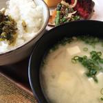 リッチモンドホテル福岡天神 - ごはんにお味噌汁