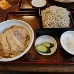 泰明庵 - カツ丼セット 1,100円