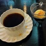 利休の朝顔 - コーヒーとミニデザート