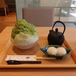 もみじ茶屋 - 宇治抹茶かき氷
