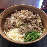 うどん亭やま - 料理写真:牛肉ぶっかけ冷(*゚∀゚*)500円