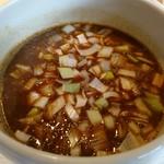 70067781 - 濃豚特製つけ麺 スープアップ