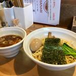 らーめん HANABI - つけ味玉(太麺)