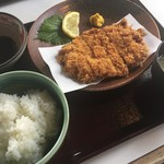 うなぎの日高 - チキンカツ定食
