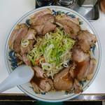 ぺーぱん - 料理写真:2017年7月 正油野菜チャーシューメン 1050円