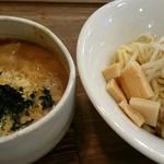 Omotenashi Noodles よこじ - 料理写真:魚粉台湾カレーつけ麺?