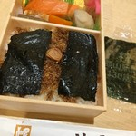 福豆屋 - おかずより海苔&おかか御飯