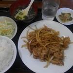 香港亭 - 料理写真:しょうが焼き定食¥780-