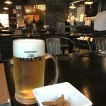 炉端dining ろい - 生ビール!