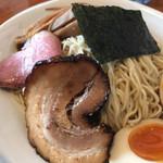 うしおととり - イカROSSOつけ麺 味玉 ¥860