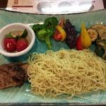 70073476 - スパイシーカレーつけ麺@1,000円