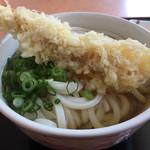 たも屋 - 料理写真:海老天うどん(*゚∀゚*)