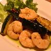 サカナバル 一歩 - 料理写真:海老とズッキーニのガーリック炒め