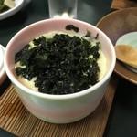 70076763 - 海苔茶碗蒸し