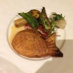 カフー - 白身魚のパイ包み焼き