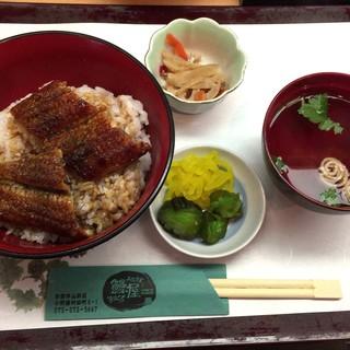鰻屋すみで - 料理写真:鰻丼並み