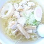 ウエル蟹 - シャモロックラーメンアップ