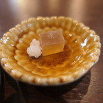 Basic珈琲 - 琥珀糖と金平糖