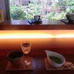 Cafe 茶洒 kanetanaka - サーシャ風抹茶