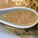 70081881 - 2017.6.15  ネギラーメンのスープ