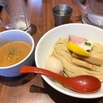 麺屋 翔 - 2017年7月 鶏白湯つけ麺大盛り(900円)