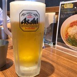 麺屋 翔 - 2017年7月 生ビール