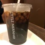 リトルマーメイド - ドリンク写真:2017年7月 アイスコーヒー