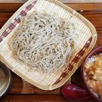 しゃぶ蕎麦 小次郎 水道橋店 - 小次郎ランチ(780円外税)