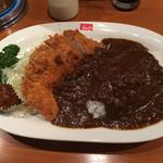 銀座スイス - 千葉さんのカツカレー(1400円)