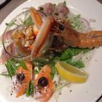 70085779 - 魚貝のカルパッチョ(920円税別→994円)