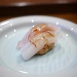 鮨人 - 甘鯛と墨烏賊