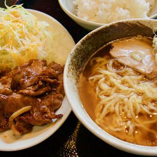 ふたば名物!一番人気の焼肉定食!!