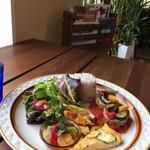 カフェ&ザッカ アオノケシキ - 料理写真:スローランチプレート