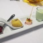 トラットリア イル フィオレット - 前菜5種盛り