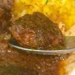 カレーの店 マボロシ - 豚肉 アップ