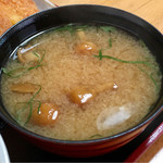キッチン食堂 城山 - なめこ汁もたっぷり!!