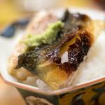 うを徳 - 2017.7 石巻天然鰻(海鰻)白焼き丼