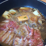 和食さと - 料理写真:さとすき焼きです。2365円でした。