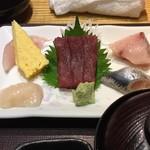 やえす初藤 - 【ランチ】お刺身定食 910円(税込)