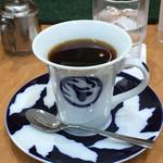 琥珀亭 - 本日のコーヒー「インドネシア マンデリン」