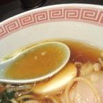 ラーメン 大至 - スープの色気♪