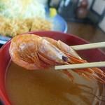 丸八食堂 - 味噌汁