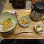こめらく ニッポンのお茶漬け日和。 - 鯛のごま和え茶漬け