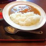 とん汁家 歩歩 - カレーライス(650円)