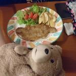 70094535 - 牛肉のパン粉焼き