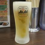 濃厚タンメン三男坊 - 生ビール380円