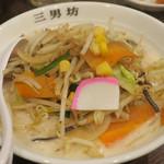 濃厚タンメン三男坊 - 濃厚タンメン700円