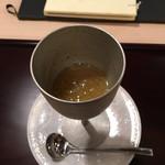 四季の味 哲粋 - 焼きナスのジュレ