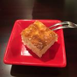 四季の味 哲粋 - 山葵のチーズケーキ