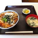 寿家食堂 - 料理写真:かつ丼(上)